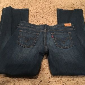 Levi Strauss Low Boot Cut Jeans